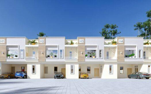 Smart 4 Bedroom Terrace Ikota 1